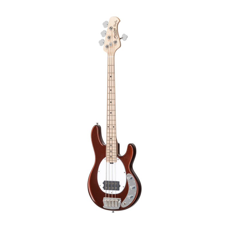 Sterling by Music Man Short Scale Stingray Bass 4 String Dropped Copper