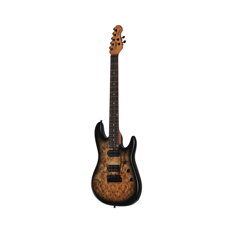Sterling by Music Man Jason Richardson 7 String Guitar, Natural Burl