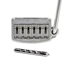 Load image into Gallery viewer, Floyd Rose Rail Tail Tremolo Kit Chrome for Strat Style guitars, Wide RT100W