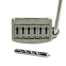 Load image into Gallery viewer, Floyd Rose Rail Tail Tremolo Kit Nickel for Strat Style guitars, Wide RT400W