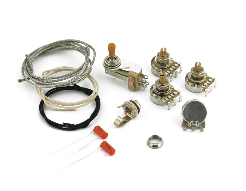 Quality SG Complete Wiring Kit with CTS, Switchcraft, Sprague