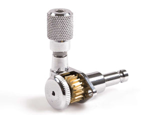 Genuine Hipshot SK1 Knurled Chrome Plated Tuner Button