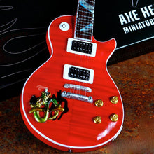 Load image into Gallery viewer, Axe Heaven Slash Signature Red 1/4 scale Miniature Collectible Guitar - SL-024