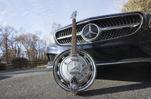 Load image into Gallery viewer, Hand crafted Boutique Custom Shop 'Benz' Smokehead Guitar