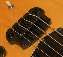 Load image into Gallery viewer, Hipshot Supertone 4-string Bass Bridge Gibson/Epi 3 point Black