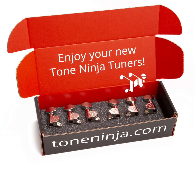 Genuine Tone Ninja Tuners, 3x3, Nickel