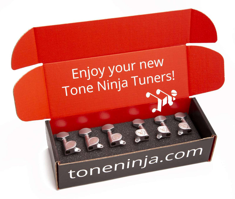 Genuine Tone Ninja Tuners, 3x3, Satin Chrome