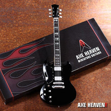 Load image into Gallery viewer, Axe Heaven Tony Iommi Signature 1/4 scale Miniature Collectible Guitar - TI-141