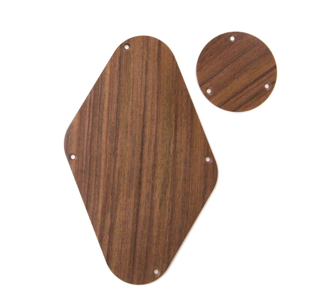Tone Ninja Rear Covers for PRS Single cut, matched pair East Indian Rosewood