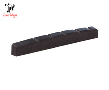 Load image into Gallery viewer, Tone Ninja USA Made Slotted Nut Flat bottomed 42mm Black 5 Pack TN-NUT-003-B5