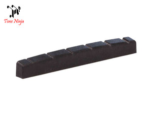 Tone Ninja USA Made Slotted Nut Flat bottomed 42mm Black 5 Pack TN-NUT-003-B5