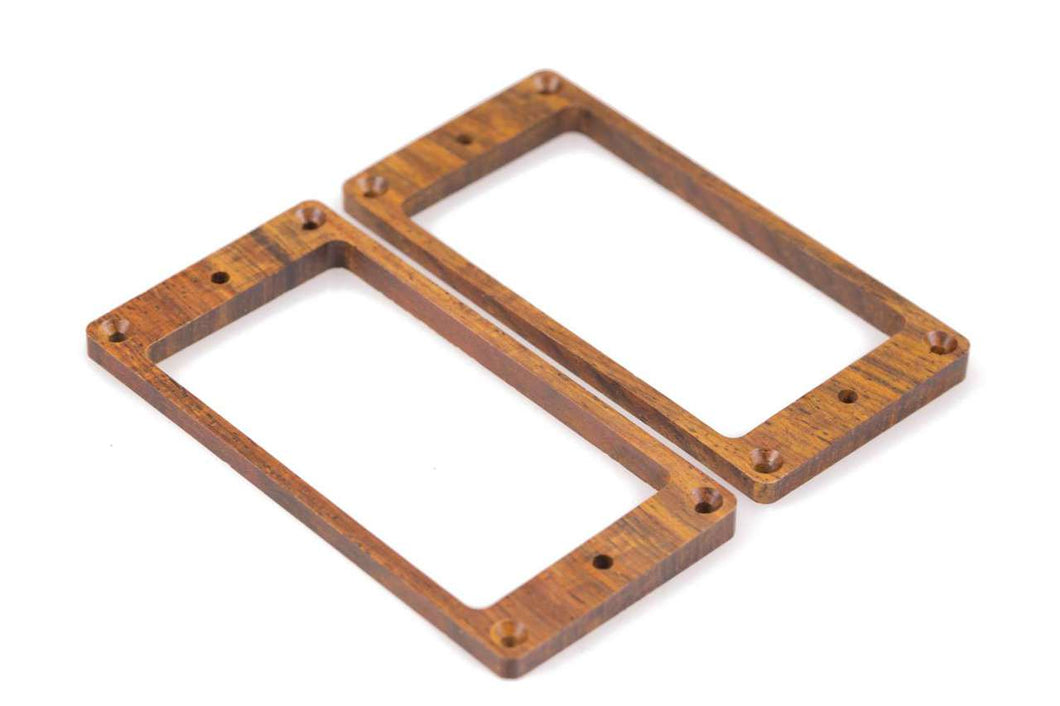 Tone Ninja Pickup rings (2) for PRS Hardtail guitars - Cocobolo Wood