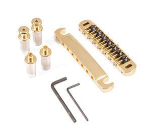 Genuine Hipshot Tone-A-Matic 7 String Bridge and Tailpiece Gold 4TM070G