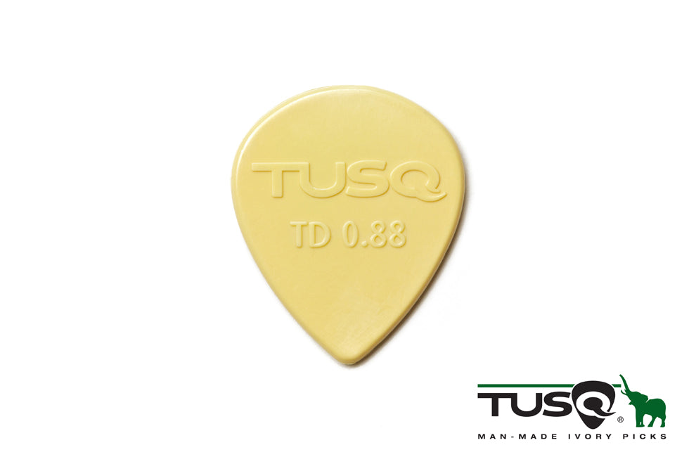 Graph Tech Tusq Picks Teardrop Shape 0.88mm Warm tone 72 pieces