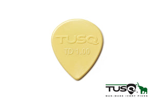 Graph Tech Tusq Picks Teardrop Shape 1.00mm Warm tone 72 pieces