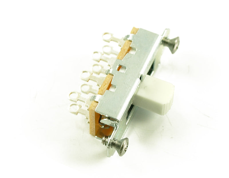 Genuine Switchcraft Slide Switch Mustang/Duosonic White Tip