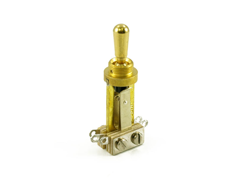 Genuine Switchcraft Exact Lp Toggle Gold