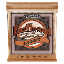 Load image into Gallery viewer, Ernie Ball Earthwood Light Phosphor Bronze Acoustic Guitar Strings