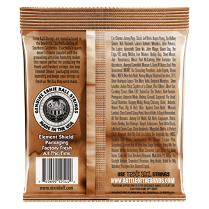 Ernie Ball Earthwood Medium Phosphor Bronze Acoustic Guitar Strings