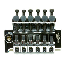 Load image into Gallery viewer, Graph Tech LB63 Ghost Loaded Floyd Rose Style Locking Bridge - Chrome