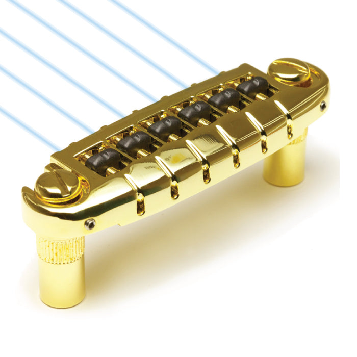 Graph Tech Ghost loaded Resomax NW1 Wraparound Bridge - Gold