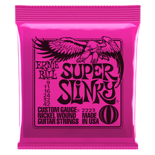 Load image into Gallery viewer, Ernie Ball Super Slinky Nickel Wound Electric Guitar Strings