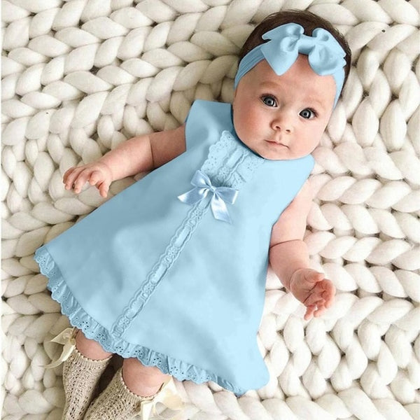 0-24M Baby Girl ClothesTwo-Piece Princess Dress Cute Baby Clothes