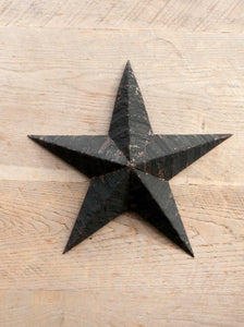 Vintage Black Amish Barn Stars