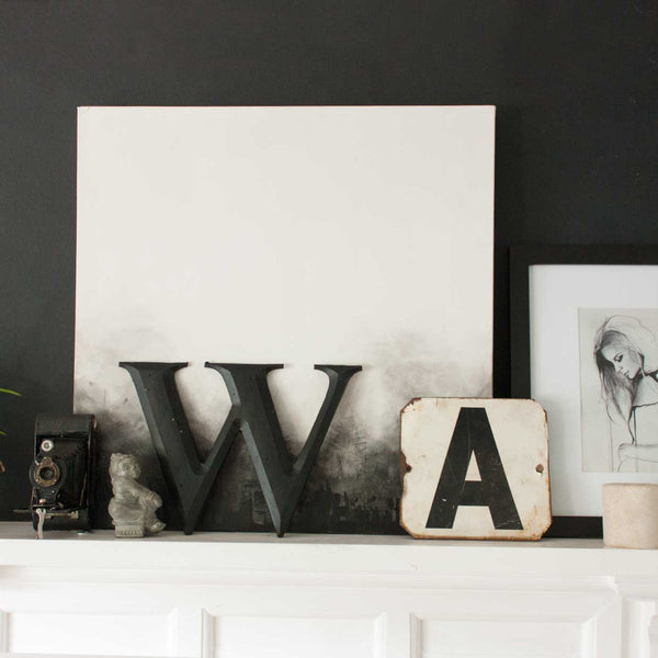 Black Statement Letters