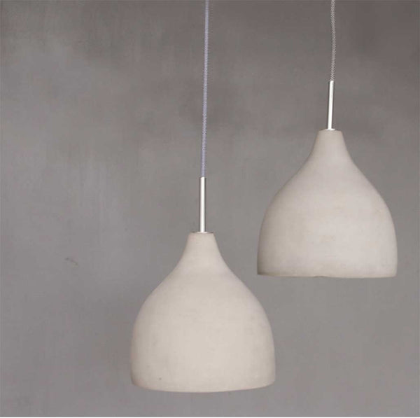 Concrete Hanging Lights