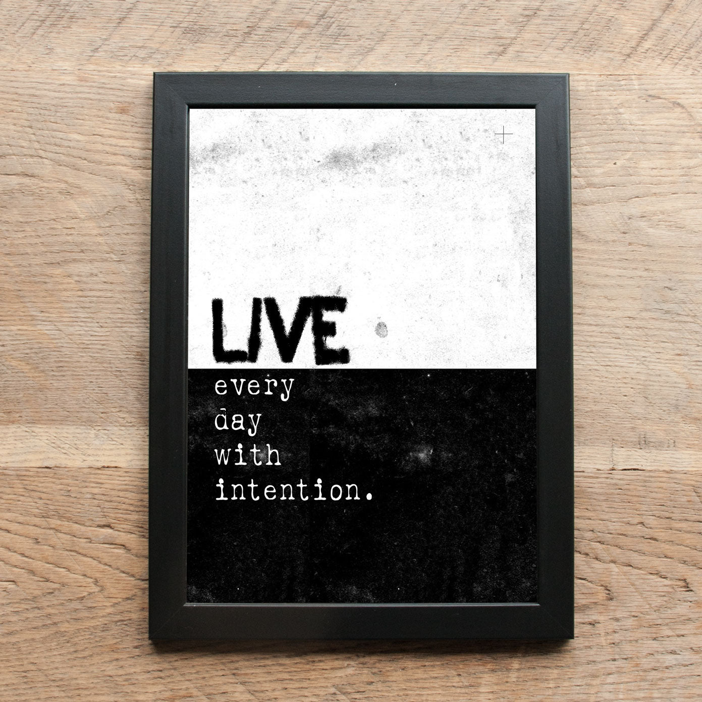 Word Statement Print - Live Every Day