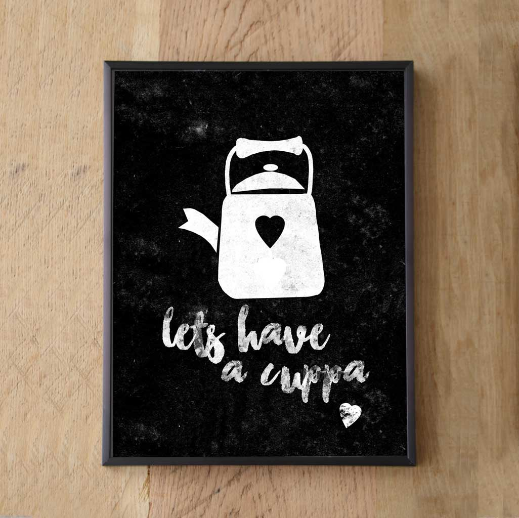 Print Wall Art -Lets Have a Cuppa Print