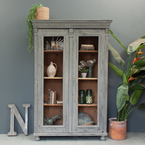 Vintage Full Length Display Cabinet