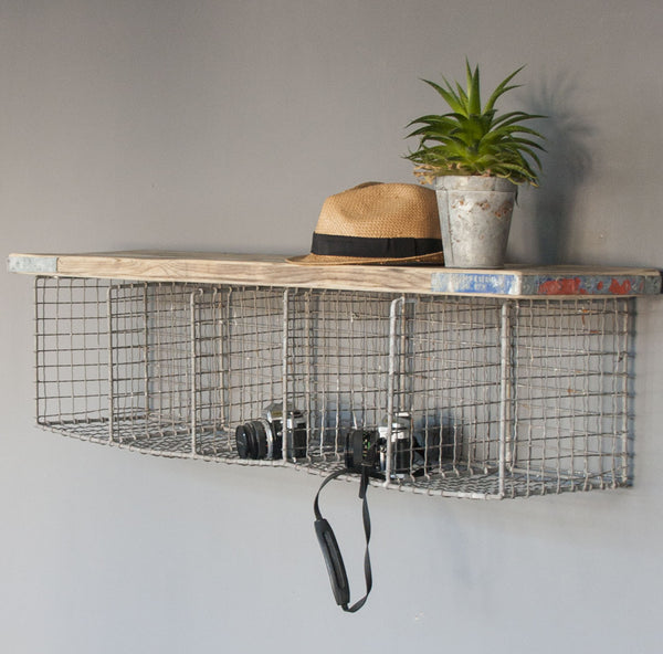 Industrial Wire Storage Shelf