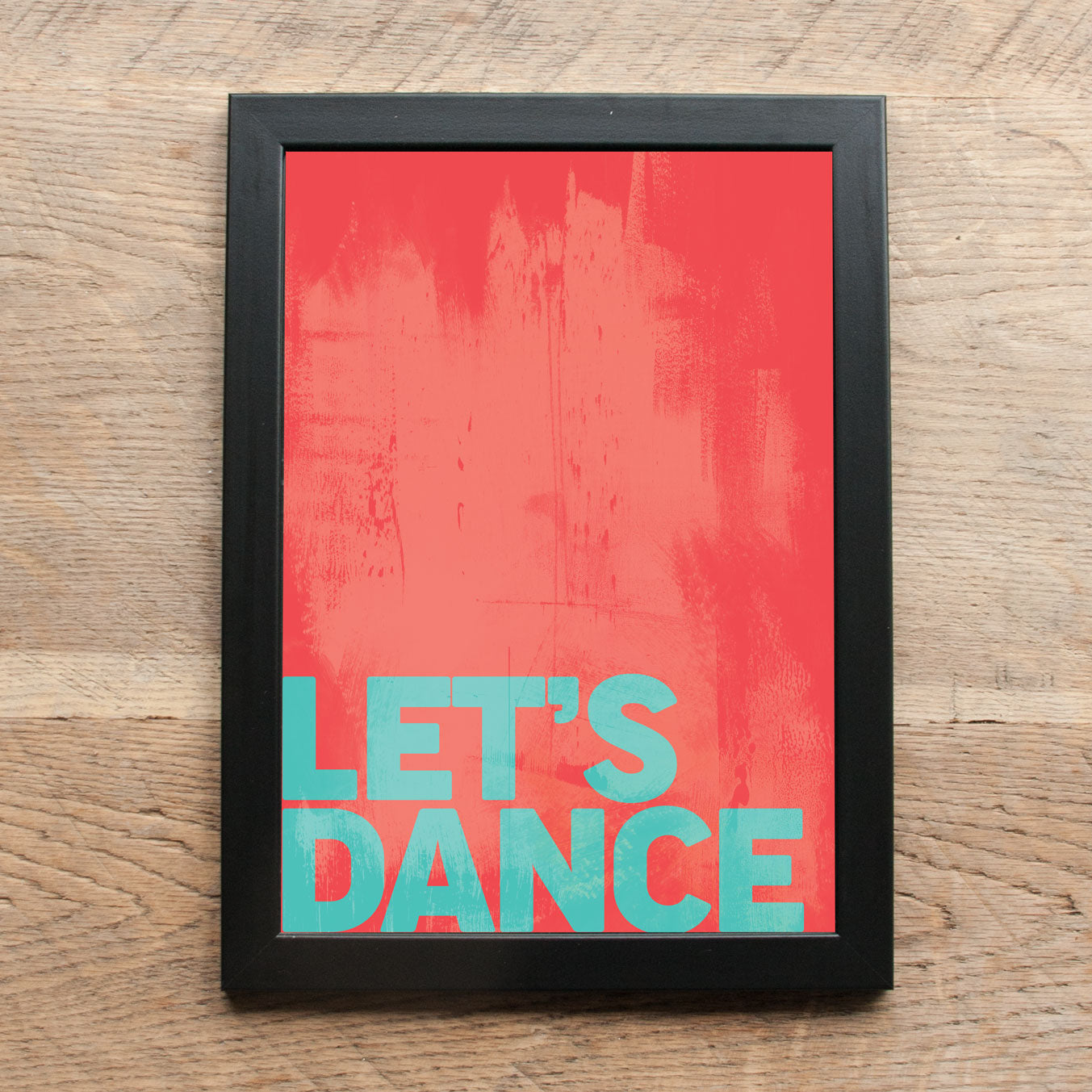 Word Print - Let's Dance
