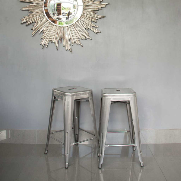 Tolix Style French Cafe Bar Stools
