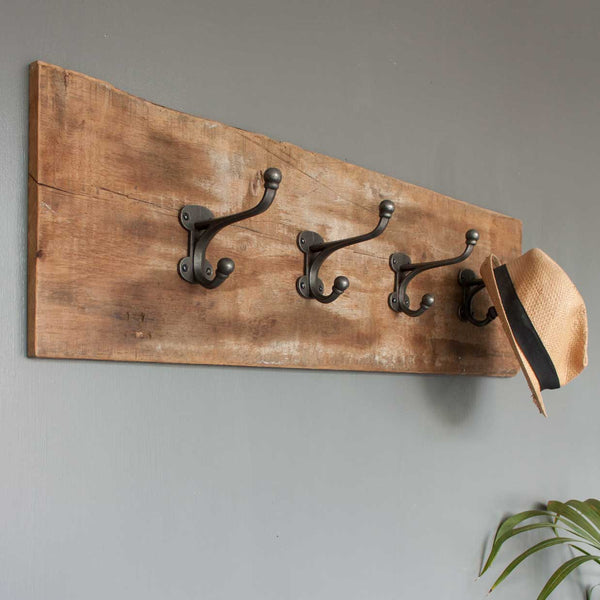 Vintage Wood Coat Hook