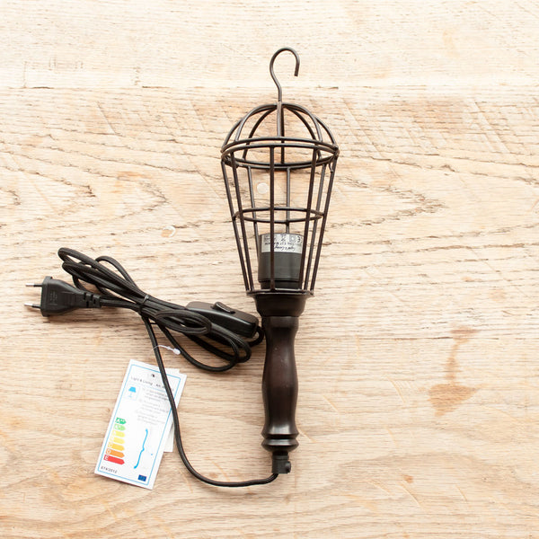Wire Mechanic's Hook Lamp