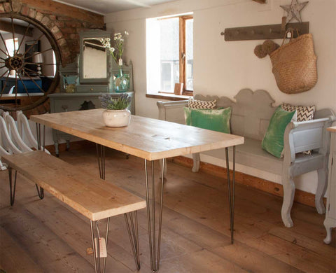 Hairpin 6 seater Table