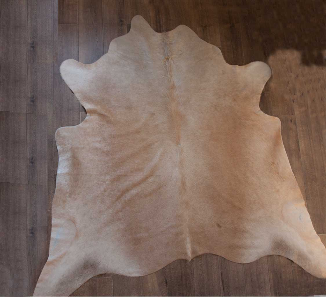 Natural Cow Hide Rug