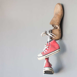 Vintage Wooden Shoe Last Hook