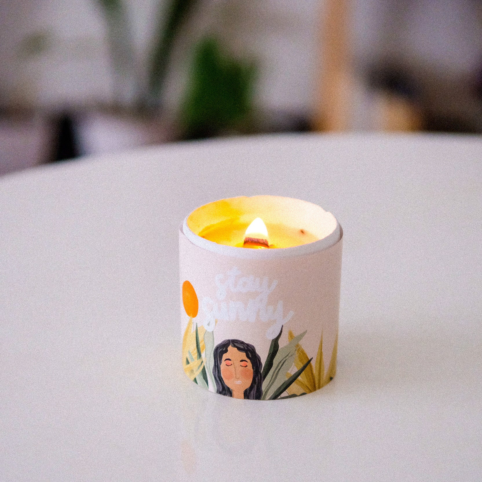 collab candle with @miathehooman
