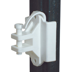 T Post/Wood - Pinlock Insulator - Polywire/wire - White