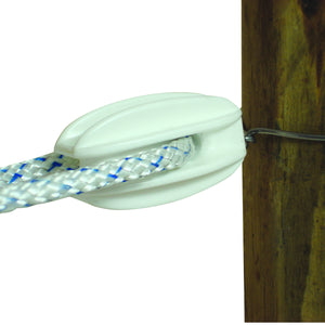 Heavy Duty Tie on Corner/End - Polyrope - White