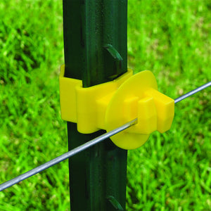 Patriot - T-Post Claw Insulator - Yellow