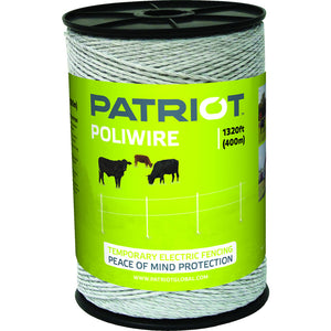 Patriot White Polywire - 1,320'