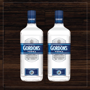 GORDONS VODKA (2) PACK
