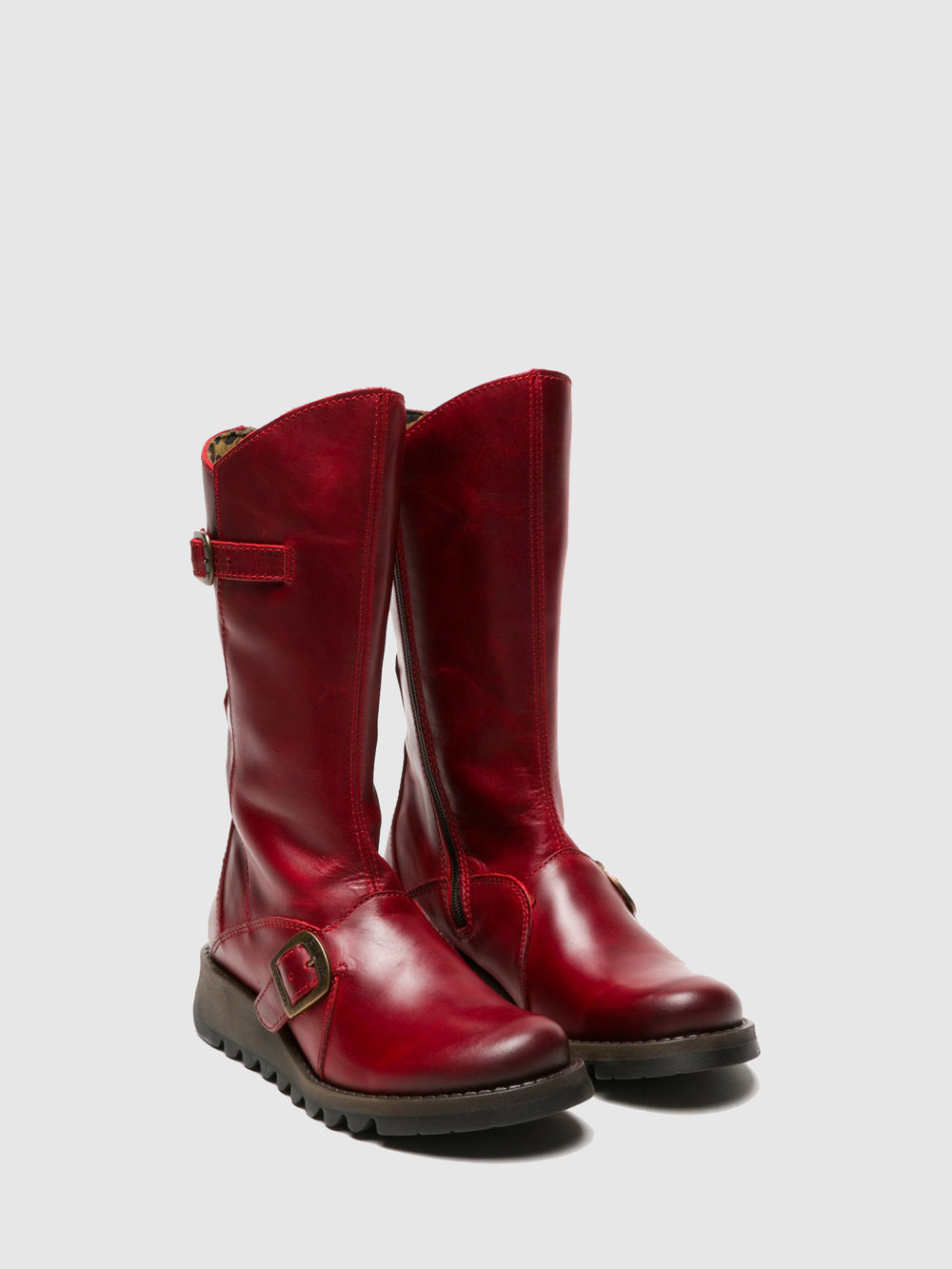 Buckle Boots MES 2 RED