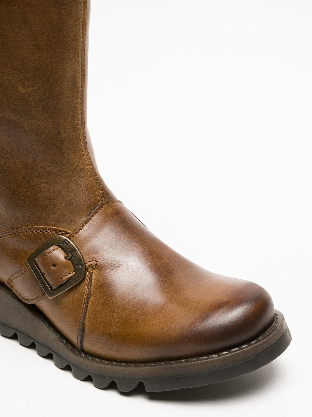 Buckle Boots MES 2 CAMEL