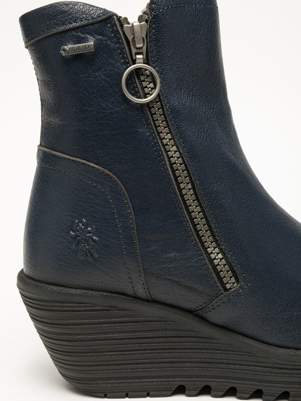 Zip Up Ankle Boots YOLK377FLY OCEAN